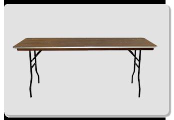 Location Table rectangulaire en bois