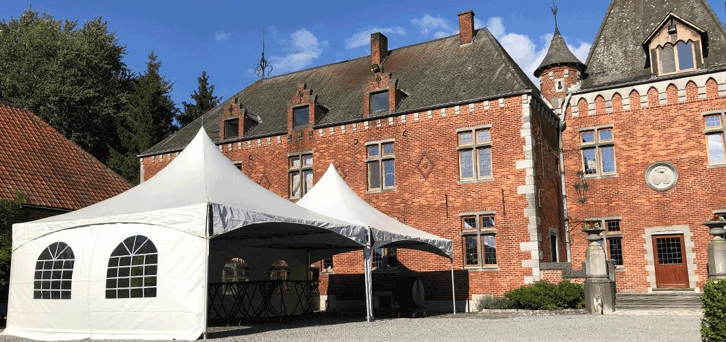 Location de tente Pagode